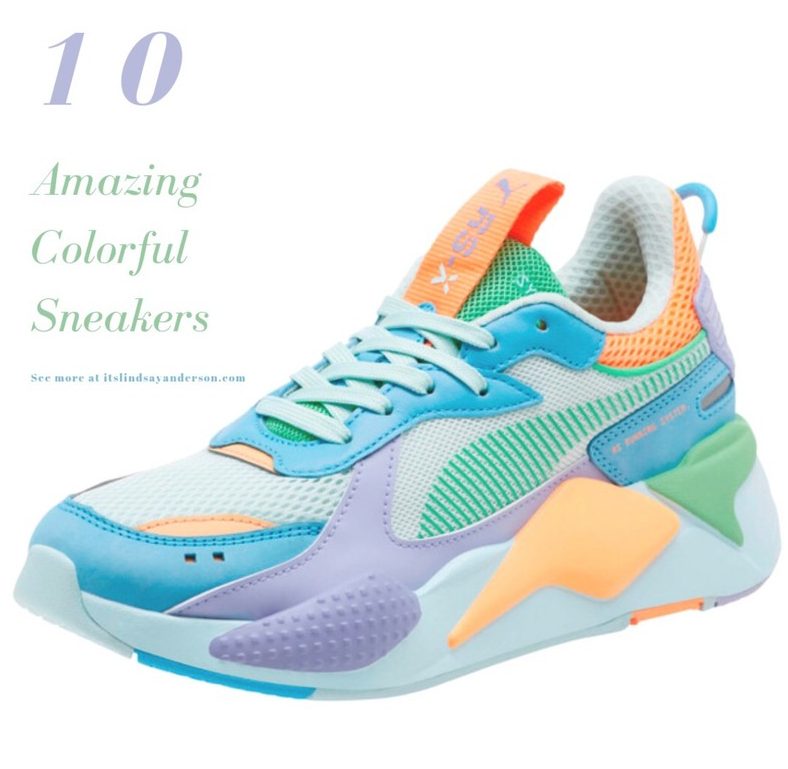 10 COLORFUL SNEAKERS FOR SPRING – it's